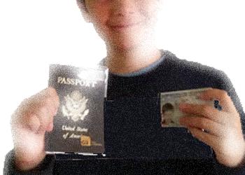 Passport cards for children